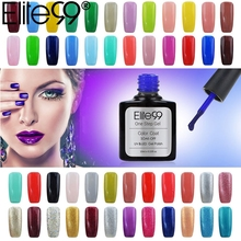 Elite99 3-in-1 UV LED One Step Nail Gel Polish Manicure Varnish No Need Top Base Coat Hot Sale Gorgeous UV Polish Gel Lacquer
