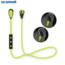 Sowak Bluetooth Earphone IPX4 Waterproof Wireless Headset With Microphone Two Style Cordless Earphone Earpiece Audifonos Earbuds(China)