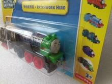1:64 new style die cast  1 : 64 Diecast model Thomas and friends with hook trainmaster HIRO color & tender