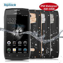 "Blackview BV7000 Pro IP68 Waterproof Shockproof 4G Fingerprint Smartphone MTK6750T Octa Core 5.0"" FHD 4GB+64GB 13MP Mobile Phone"