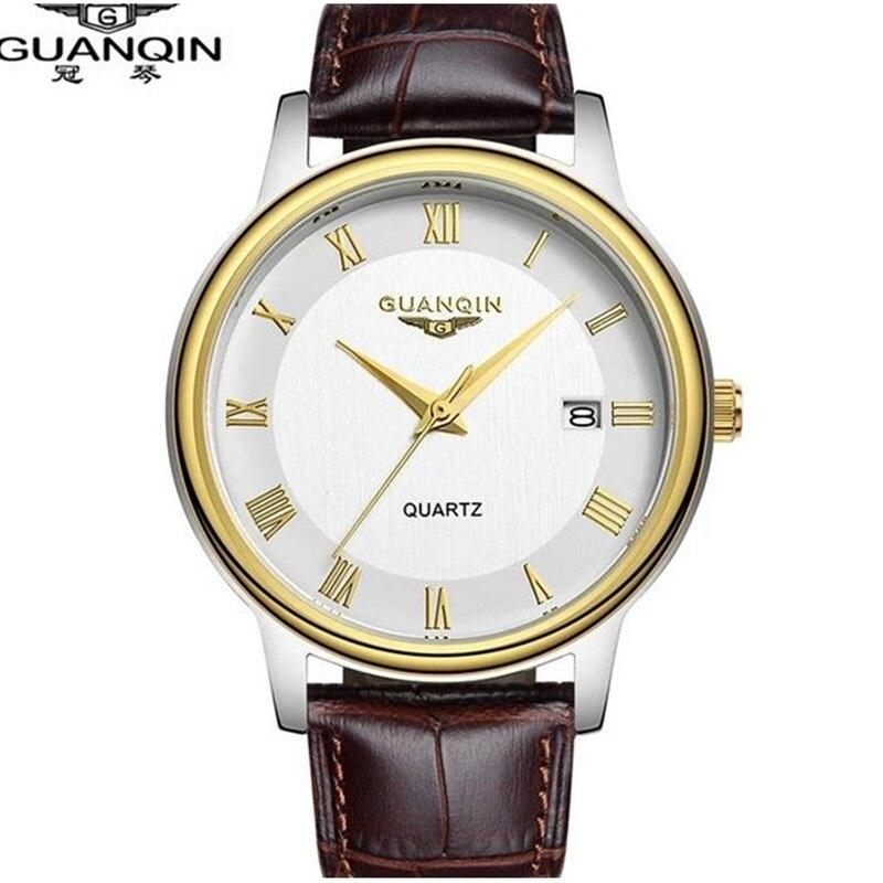 Brand GUANQIN Watch Men Luxury Quartz Watch Waterproof Sport Watch Clock Famous Brand Wristwatches Relogio Masculino Reloj<br>