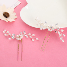 5pcs Pearl Hairpins Hair Fascinators for Weddings Bridal Hair Pins Hairclips Jewelry Hairwear Girls Hair Accessories For Women