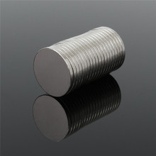 20pcs 20 x 2mm Circular Disc Rare Earth Neodymium Super strong Magnets N52 Craft Model Permanent magnet Hard to apart away(China)