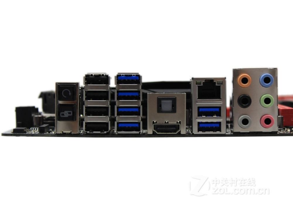 mainboard ASUS Maximus VI Gene desktop motherboard  Z87 DDR3  LGA 1150 motherboard  LGA 1150 i7 i5 i3 DDR3 32G SATA3 UBS3.0