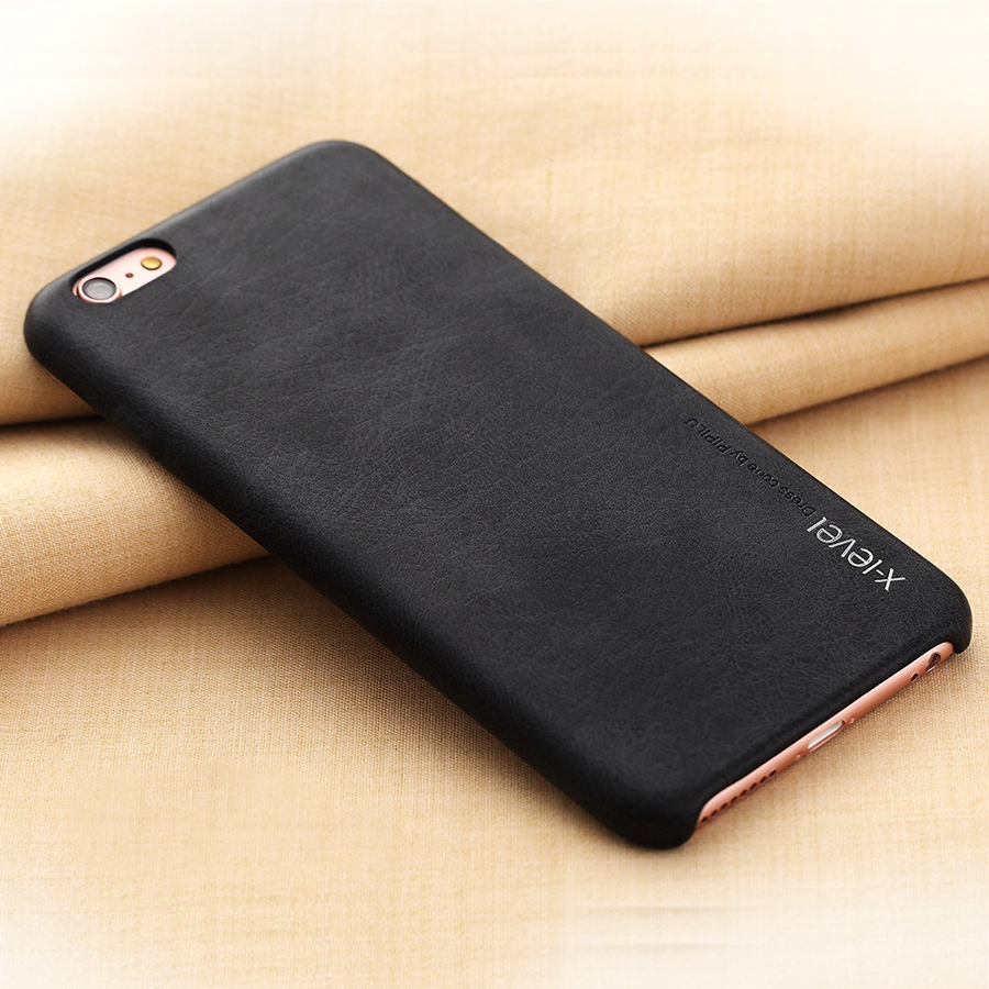 For iphone 6 Case S Plus Luxury Leather Full Phone Protective Black Brown for Apple Cover iphone 6 s 6s Cases Accessories(China (Mainland))