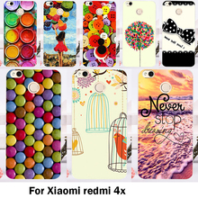 TAOYUNXI Cases Cover For Xiaomi Redmi 4X 5.0 inch Bags Skin Hard Plastic Soft TPU Cell Phone Bakc Anti-Skidding Sheaths