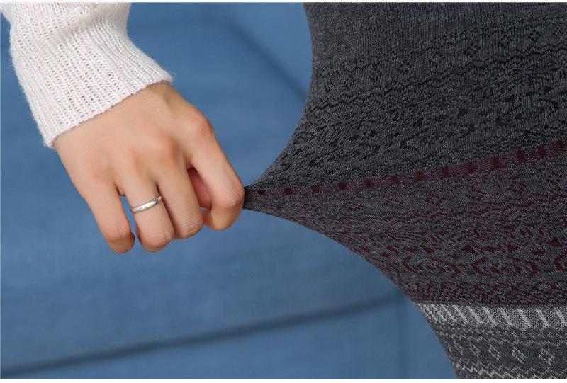 Winter Leggings, Women's High Waist Warm Leggings 15