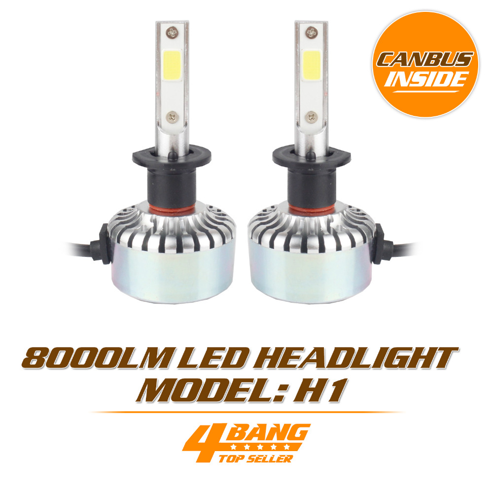 Lowest Price Car-Styling 1A LED COB Headlight 12-24V 40W 8000LM Universal Light Lamp Bulb H1 H3 H4 H7 H8 H9 H11 9005 9006 9012<br><br>Aliexpress