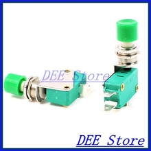 limit switches types SPDT 1NO 1NC 3-Terminal Green Button Actuator Mini Limit Microswitch