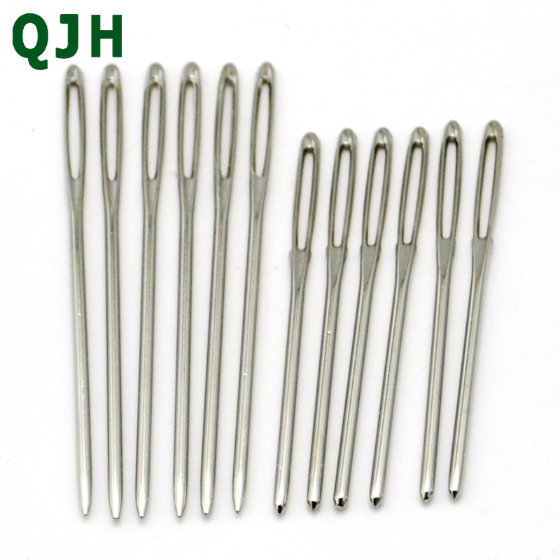 Sewing Tools 12Pcs 4Size Hand Stitches Stainless Steel Embroidery Needle Needlework Knitting Needles Arts /& Crafts Sewing Tools 4 5 6 7