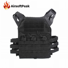 1000D Molle JPC Tactical Vest Simplified Version Military Chest Protective Plate Carrier Hunting Vests Airsoft Chest Rig