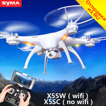 SYMA X5SW Drone FPV Quadcopter Wifi Camera Real-time Remote Control Helicopter Syma X5SC RC Drone Quadrocopter With HD Camera