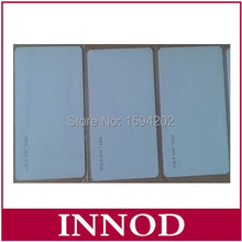 free sample 5pcs iso18000-6c pvc tag uhf white card 860-960mhz passive Long range UHF RFID card