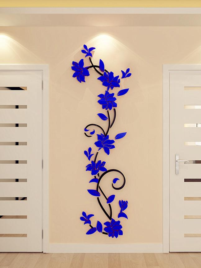 HTB12.GRQVXXXXXzXFXXq6xXFXXXY - 3D Acrylic Crystal Mirrored Decorative Wall Decal For Living Room