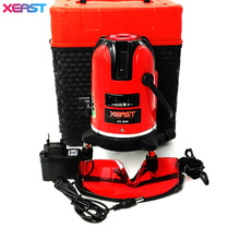 XEAST XE-50R 5 lines 6 points laser level 360 rotary cross laser line leveling with outdoor model 5 lines 6 dots laser level