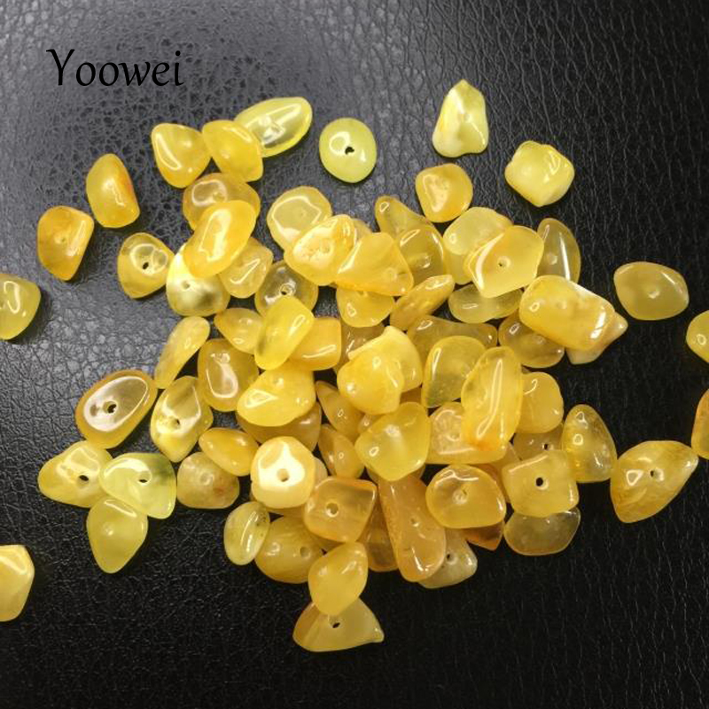 chips amber beads (4)