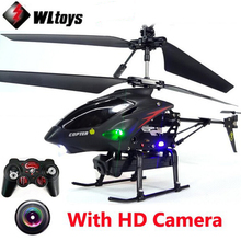 WLtoys S977 3.5 CH Radio RC Metal Gyro Helicopter RC Quadcopter Dron With HD Camera  VS V911,V913