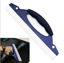 Silicone Car Water Scraper Blade Windscreen Wiper Board Auto Snow Shovel Car Washing Cleaning Tools