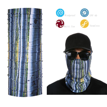 Outdoor Headwear Scarf Tree Pattern Bandana Mask Neck Tube Sun UV Protection