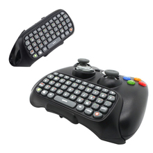 Game Accessory Wireless Text Messenger Game Keyboard Controller CHATPAD for XBOX 360 wired controller/ wireless controller(China)