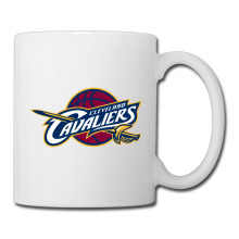 Cleveland Basketball Logo coffee mug outdoor kids tazas ceramic tumbler caneca tea Cups