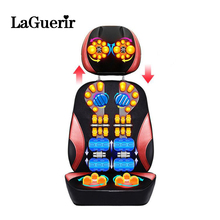 Health care Full body Neck Massage Cushion Full Body Shiatsu Massage Chair Compresses Vibration Kneading Back Massage Machine(China)