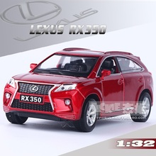 High Simulation Exquisite Model Toys Car Styling Red LEXUS RX350 Luxury SUV Car Model 1:32 Alloy Car Model Excellent Baby Gifts