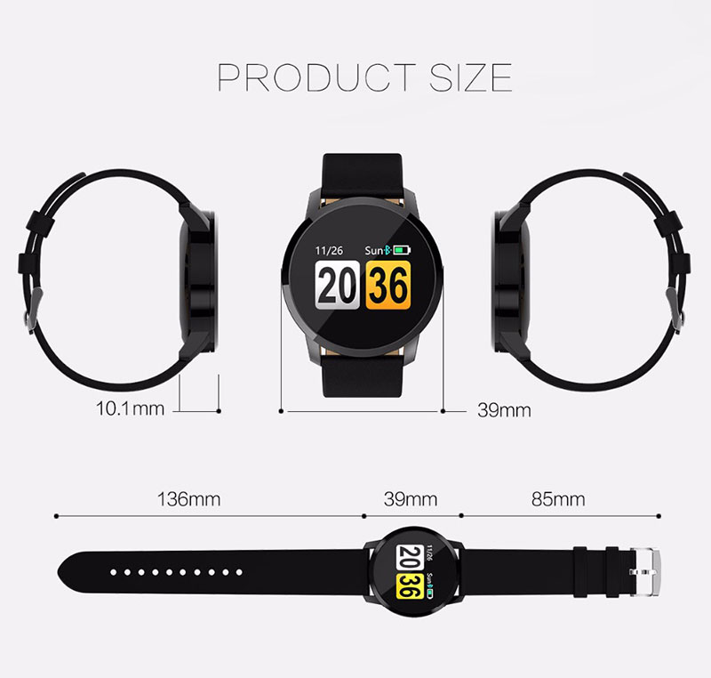 VERYFiTEK Q8 Heart Rate Monitor Smart Watch Blood Pressure Oxygen SmartWatch IP67 Pedometer Men Women Sport Fitness Watches (21)