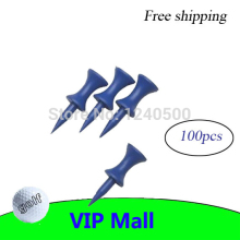 Free Shipping 100pcs/pack 35MM Plastic Blue Golf Tees Golfer Club Practice Accessory Sports