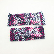 Helen115 Lovely Mother&Daughter Twist Bow-Knot Head Wrap Headband Twisted Knotted Hair Band