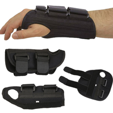 1 Pair Metal Strip Splint Medical Carpal Tunnel Wrist Support Left/Right Durable Wrist Brace Band Sports Safety Strap
