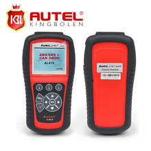Wholesale Original Autel Autolink AL619 ABS/SRS + CAN OBDII Code Reader Turn off Check Engine Light clears codes resets monitors(China)