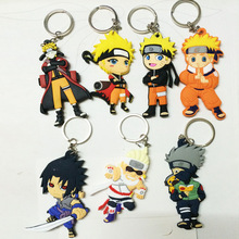Naruto action figure keychain toys 2016 New Japanese Anime Naruto sasuke uzumaki naruto akatsuki madara figurines Collection toy(China)