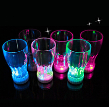10pcs/lot Luminous Party Cup Led Light Cup Beer glass Flashing Coke Cup Event & Party decoration Supplies