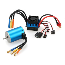 3650 3900KV Sensorless Metal Brushless Motor with 60A Brushless ESC for 1:10 RC Car Motor DIY Car Model Part(China)