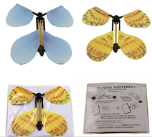 3 PCS Transform Flying Butterfly Cocoon into a Butterfly Trick Prop Magic Toy(China)