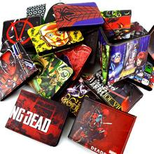 DC cartoon wallet to be dead / small yellow person / Ant-Man / Future Soldier and other multi-card bit minimalist wallet