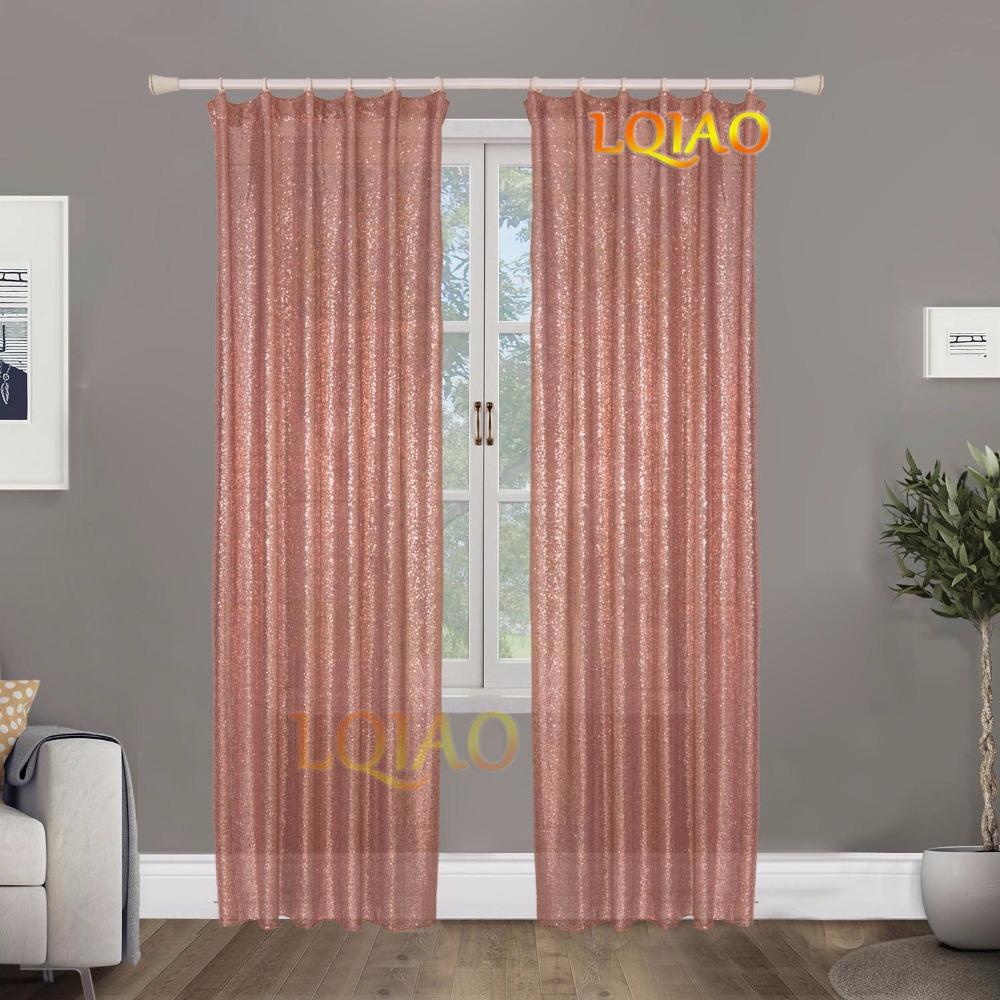 Rose Gold Curtain-1