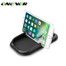 Onever Auto Temporary Car Parking Card Anti-Slip Car Dashboard Sticky Pad Non-Slip Mat GPS Phone Holder