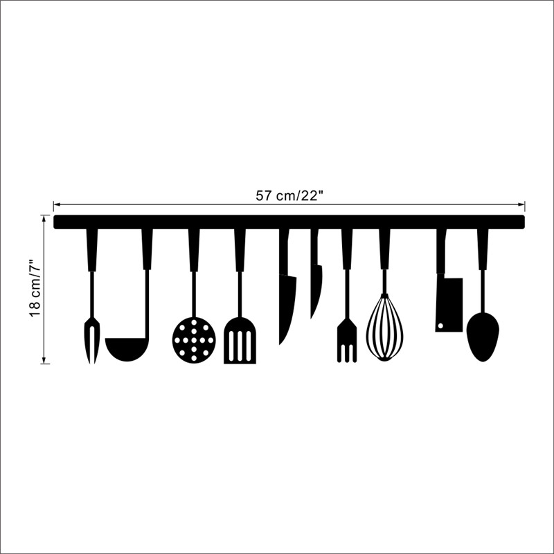 HTB1201EmOCYBuNkSnaVq6AMsVXay - Kitchen Wall Quotes Art food wall sticker-Free Shipping