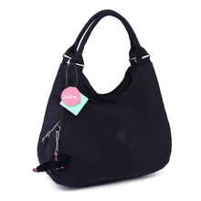 waterproof washable fabric ladies shoulder bag dumplings women tote bag retro leisure hobos bag (HB25-29)(China)
