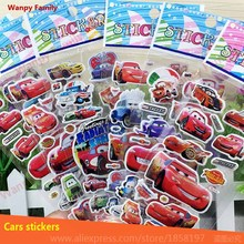 Rusteze Cars wall stickers,Cars Racing sports cars Pixar Cars stickers For Children's Birthday gifts toys stickers
