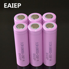 6PCS Original ICR18650 26F discharge lithium batteries, 100% 2600mAh electronic cigarette Power Battery, mobile power battery