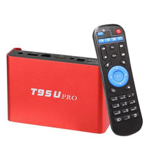 T95U Pro Android 7.1 OS Amlogic S912 Octa Core 2GB+16GB / 3GB+32GB Bluetooth 4.0 1000M LAN 2.4G/5G Dual WiFi Smart Google TV Box(China)
