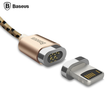 Baseus Magnetic Micro USB Cable Adapter Data Sync Charging Cable For iPhone 7 6 6s se 5s 5 iPad Air mini Samsung Magnet Charger