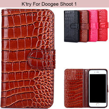 Buy K'Try Alligator Crocodile Skin Pu Leather Phone Case Magnetic Wallet Luxury Elegant Cover Doogee Shoot 1 for $5.39 in AliExpress store