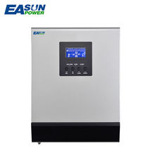 EASUN POWER 24V MPPT Solar Inverter 2Kva 1600W Off Grid Inverter 220V 25A Hybrid Inverter Pure Sine Wave Inverter 30A AC Charger