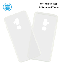 For Homtom S8 Silicone Case Soft Back TPU Transparent Clear Cover Replacement For Homtom S8 Mobile Phone Protective Case Shell