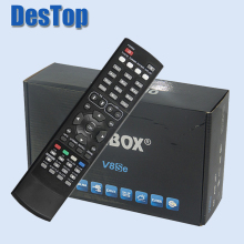 1pc Original V8Se Digital Satellite Receiver AV HDMI Output with USB Wifi WEB TV Biss Key 2xUSB CCCAMD NEWCAMD