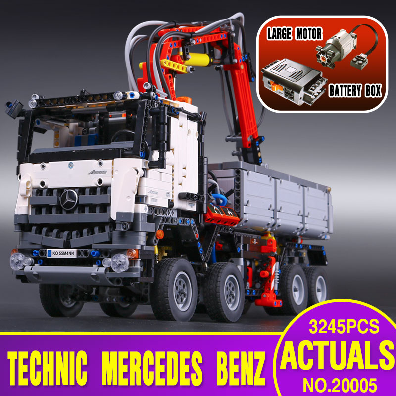 2793pcs NEW LEPIN 20005 technic series Mercedes-Be...